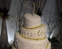 Fairy dust cakes