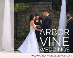 Whitney Collum Wedding Officiant with Arbor Vine Weddings