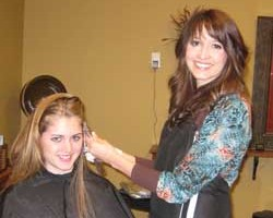 Morgan at Changes Salon