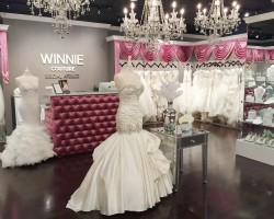 Prepare To Be Swept Off Your Feet Upon Entering The Winnie Couture Flagship  Salon In Dallas As You Are Greeted With A Glass Of Champagne And Taken On A  Tour ...