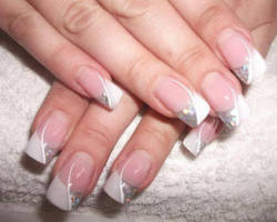 Enjoy A New Style Of Glamour In Nails Using Charms Tattoos And Rhinestones Offered By Nail Tekniqs The Best Prices Available Today Spa